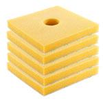 Festool 498070 SurFix Finish Applicator Sponges - 5 Pk.