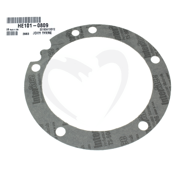 John Deere #HE101-0809 Bearing Plate Gasket