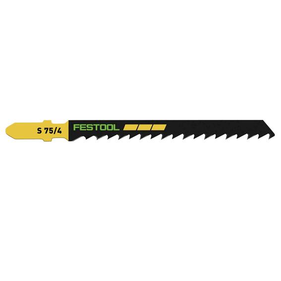 Festool 204306 S 75/4/25 Basic Wood Cutting Jig Saw Blades, 25 ct