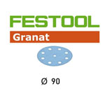 Festool 497363 90mm P40 Disc Abrasives, 50 ct