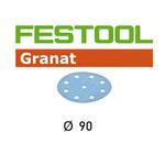 FESTOOL  497373 GRANAT P400 DISC ABRASIVES - 90MM - 100 PK.