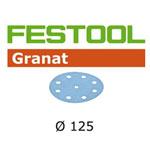 Festool 497145 Granat P40 Disc Abrasives - 125mm - 10 Pk.