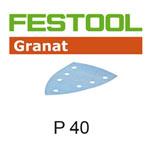 Festool 497131 Granat P40 Delta Abrasives - 100 x 150mm - 10 Pk.