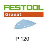 Festool 497133 Granat P120 Delta Abrasives - 100 x 150mm - 10 Pk.