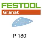 Festool 497134 Granat P180 Delta Abrasives - 100 x 150mm - 10 Pk.