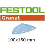 Festool 497142 Granat P240 Delta Abrasives - 100 x 150mm - 100 Pk.