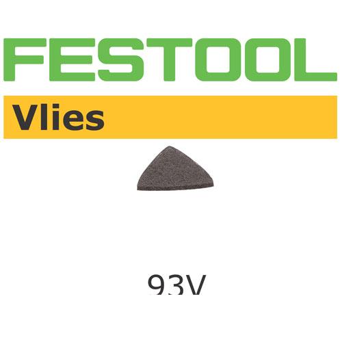 Festool 487605 93mm Vlies A100 Delta Abrasives, 10 ct