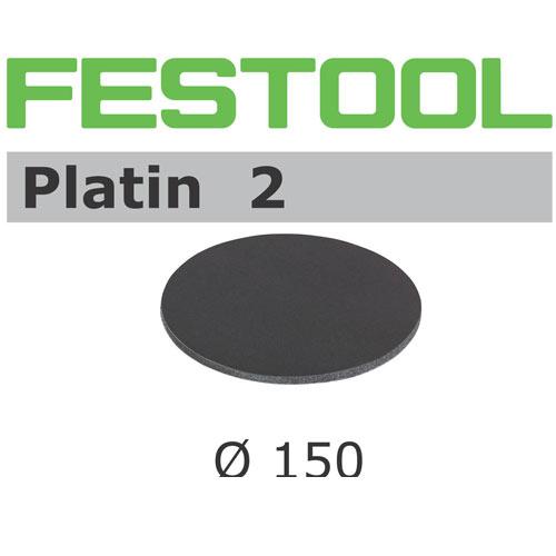 Festool 492368 150mm Platin 2 S400 Disc Abrasives, 15 ct