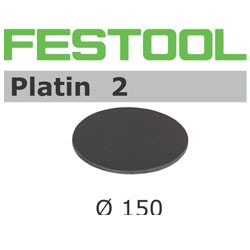 Festool 492370 150mm Platin 2 S1000 Disc Abrasives, 15 ct