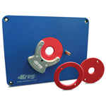 KREG #PRS3034 PRE-DRILLED ROUTER TABLE INSERT PLATE - TRITON
