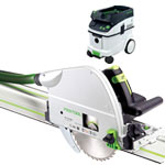 FESTOOL TS 75 EQ PLUNGE-CUT SAW IMPERIAL & CT 36 E EXTRACTOR PACKAGE