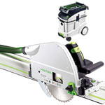 FESTOOL TS 75 EQ PLUNGE-CUT SAW IMPERIAL & CT 48 E EXTRACTOR PACKAGE