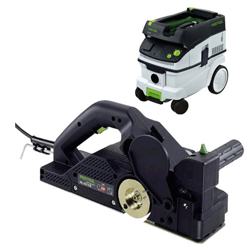 FESTOOL HL 850 E PLANER IMPERIAL & CT 26 E EXTRACTOR PACKAGE