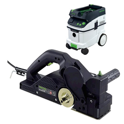FESTOOL HL 850 E PLANER IMPERIAL & CT 36 E EXTRACTOR PACKAGE