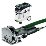 FESTOOL DF 500 Q DOMINO JOINER & CT 48 E EXTRACTOR PACKAGE