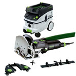 FESTOOL DF 500 Q DOMINO JOINER SET & CT 26 E EXTRACTOR PACKAGE