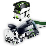 FESTOOL DF 700 EQ DOMINO XL JOINER & CT MIDI EXTRACTOR PACKAGE