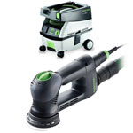 FESTOOL ROTEX RO 90 FEQ MULTI-MODE SANDER & CT MINI EXTRACTOR PACKAGE