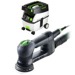 FESTOOL ROTEX RO 90 FEQ MULTI-MODE SANDER & CT MIDI EXTRACTOR PACKAGE