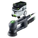 FESTOOL ROTEX RO 90 FEQ MULTI-MODE SANDER & CT 26 E EXTRACTOR PACKAGE