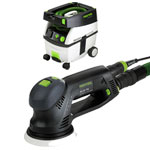 FESTOOL ROTEX RO 125 FEQ SANDER & CT MIDI EXTRACTOR PACKAGE