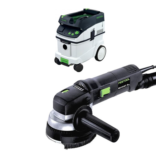 FESTOOL RAS 115 E ROTARY SANDER & CT 36 E EXTRACTOR PACKAGE