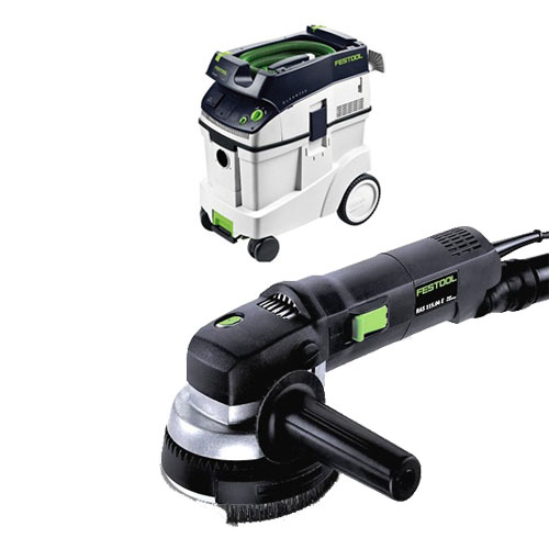 FESTOOL RAS 115 E ROTARY SANDER & CT 48 E EXTRACTOR PACKAGE