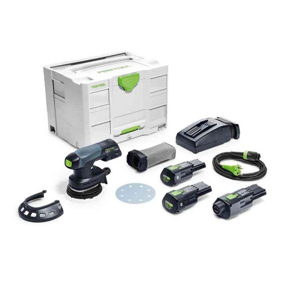 Festool 575716 ETSC 125 18V Li 3.1 Ah Cordless Eccentric Sander I-Set