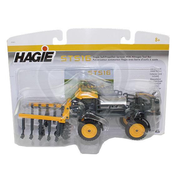 Ertl 1:64 Scale Hagie STS16 Self-Propelled Sprayer w/Nitrogen Applicator
