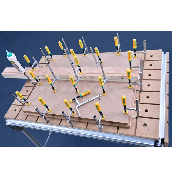 MicroJig DVC-1177K2 MatchFit Dovetail Clamp Pro Kit - In Use #2