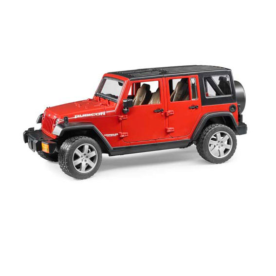 Bruder Jeep Wrangler Unlimited Rubicon, #02525