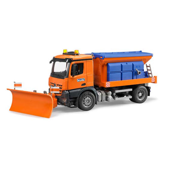 Bruder MB Arocs Snow Plow Truck, #03685