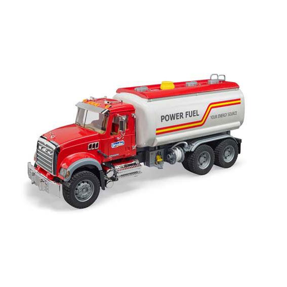 Bruder Mack Granite Fuel Tanker Truck, #02827