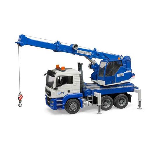 Bruder MAN TGS Crane Truck w/Lights & Sound, #03770