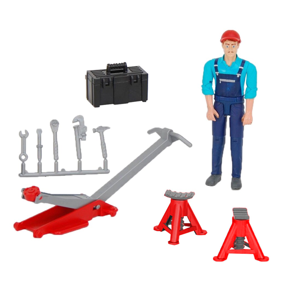 Bruder Mechanic & Equipment Set, #62100