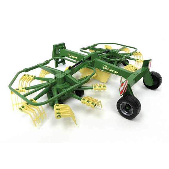 Bruder Krone Dual Rotary Swath Windrower, #02216