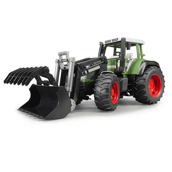 Bruder Fendt Favorit 926 Vario Tractor w/Front Loader, #02062