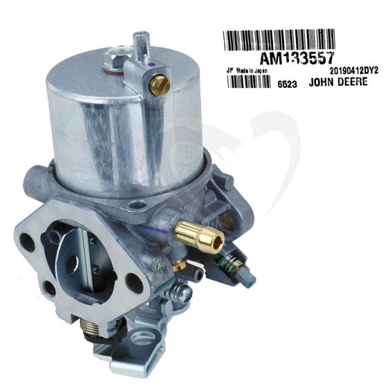 John Deere #AM133557 Carburetor