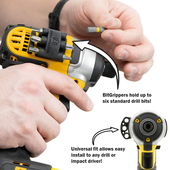Spider Tool 5020TH Holster Bit Gripper Set - How It Works