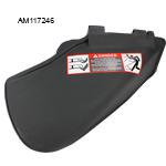 John Deere #AM117246 Mower Deck Guard / Side Discharge Chute