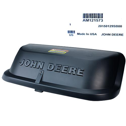 JOHN DEERE #AM121573 7 BUSHEL BAGGER HOPPER TOP - GT, GX, LX