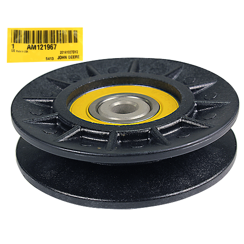 JOHN DEERE #AM121967 V-IDLER PULLEY