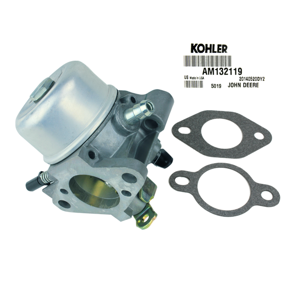 John Deere #AM132119 Carburetor Kit