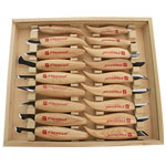 FLEXCUT #KN250 DELUXE 18 PC. CARVING KNIFE SET