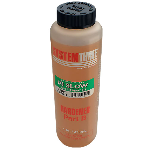 SYSTEM THREE GENERAL PURPOSE EPOXY HARDENER #3 - PINT