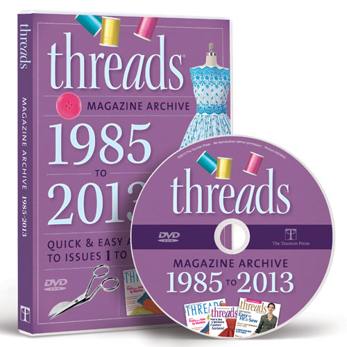 THREADS 1985 TO 2013 MAGAZINE ARCHIVE DVD-ROM