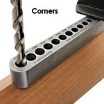 Big Gator Tools Standard V-Drill Guide - On Corners
