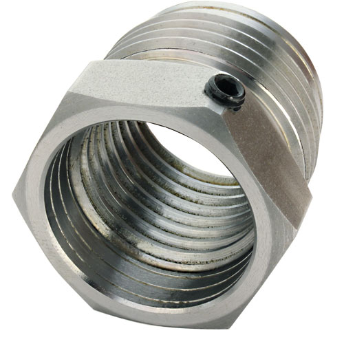 SORBY #1 25X8TPI/RSPC PATRIOT CHUCK ADAPTER INSERT - 1-1/4 INCH X 8 TPI
