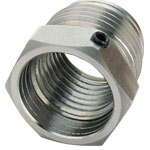 Sorby 1.25X8TPI/RSPC Patriot Chuck Adapter Insert, 1-1/4 x 8 TPI