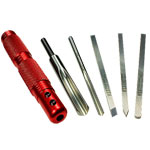 Sorby #888HS5T 5 Pc. Modular Micro Turning Tool Set